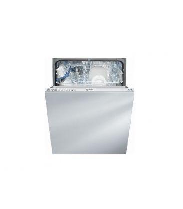 Masina de spalat vase incorporabila INDESIT DIF 16 B1 A, 13 seturi, 6 programe, Clasa A+, Alba