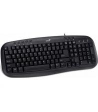 Tastatura Genius KB-M200 PS/2 black