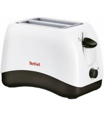 Prajitor de paine TEFAL TT 130130, 850 W, 2 Felii, Alb