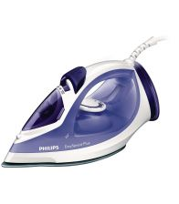 Fier de calcat PHILIPS EASYSPEED PLUS GC2048, 2300 W, Talpa ceramica,  Mov