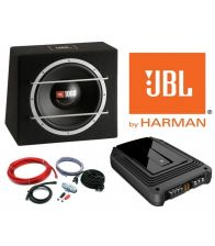 Pachet de bass JBL GX-A3001 + CS1204B + kit cabluri