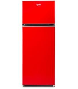 Frigider LDK LF 220 R, Clasa A+, Capacitate 206 L, H 143,5 cm, Rosu