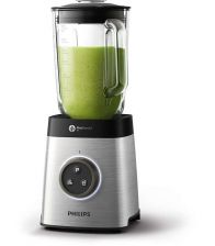 Blender PHILIPS Avance Collection HR3652, ProBlend 3D 6, Afisaj LED,1400 W, Metalic